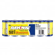 Rayovac Heavy Duty Industrial Size D Batteries 6 Pack