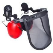 Radians Head Gear - HG410B With Visor And Earmuff