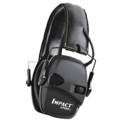 Howard Leight 1030942 Impact Sport 22 NRR Folding Ear Muffs - Tactical Black
