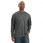 Sport-Tek K368 Dri-Mesh Long Sleeve T-Shirt - Steel