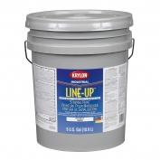 Krylon K41130113 Line-Up Bulk Water Based Pavement Striping Paint - Parking Lot Black