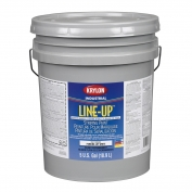 Krylon K41130404 Line-Up Bulk Water Based Pavement Striping Paint - Parking Lot White