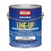 Krylon Line-Up Bulk Water Based Pavement Striping Paint - 4-1 Gallon Pails - Parking Lot Yellow