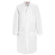 Red Kap Unisex Specialized Cuffed Lab Coat - Exterior Pockets