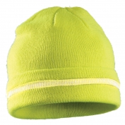 OccuNomix LUX-KCR Hi-Viz Beanie - Yellow/Lime