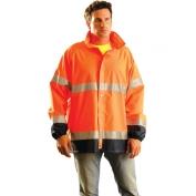OccuNomix LUX-TJR Class 3 Breathable Rain Jacket - Orange