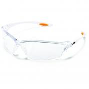 Crews Law 2 Safety Glasses - Clear Frame - Clear Anti-Fog Lens