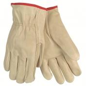 Memphis 3202 Economy Grade Grain Cow Leather Gloves - Straight Thumb