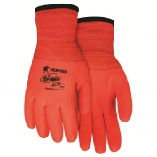 Memphis N9690FCO Ninja Ice Gloves - 15 Gauge Orange Nylon Shell - HPT Full Coating