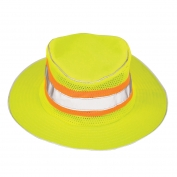 ML Kishigo 2824 Full Brim Safari Hat - Yellow/Lime - Large/XL