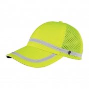 ML Kishigo 2854 Baseball Cap with Snaps - Yellow/Lime
