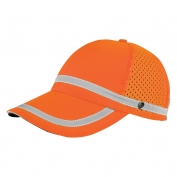 ML Kishigo 2855 Baseball Cap with Snaps - Orange