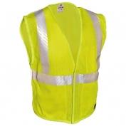 ML Kishigo FM389 Breathable Mesh FR Safety Vest - Yellow/Lime