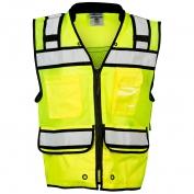 ML Kishigo S5004 High Performance Surveyors Safety Vest - Yellow/Lime