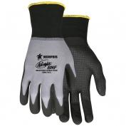 Memphis N96797 Ninja BNF Gloves - 15 Gauge Nylon/Spandex Shell - Breathable Nitrile Foam Dot Coated Palm