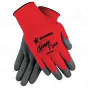 Memphis N9680 Ninja Flex Gloves - 15 Gauge 100% Nylon Shell - Crinkle Latex Coating