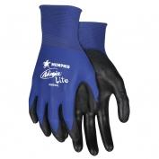 Memphis N9696 Ninja Lite Gloves - 18 Gauge Lightweight Nylon Shell - Black Polyurethane Coating