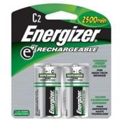 Energizer Rechargeable C Batteries 2-pack