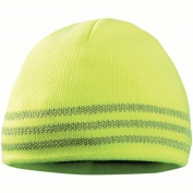 OccuNomix LUX-TBRB Tri-Band Reflective Beanie - Yellow/Lime