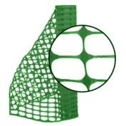 Resinet Lightweight Barrier Fence - Forest Green