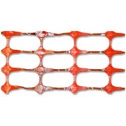 Resinet Oriented Crowd Control Fence - Orange- 4 ft x 50 ft