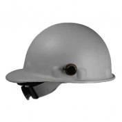Fibre Metal P2AQRW Roughneck Hard Hat - Quick-Lok - Ratchet Suspension - Gray