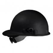 Fibre Metal P2AQRW Roughneck Hard Hat - Quick-Lok - Ratchet Suspension - Black