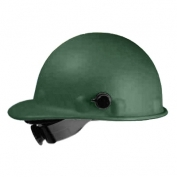 Fibre Metal P2AQRW Roughneck Hard Hat - Quick-Lok - Ratchet Suspension - Green
