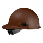 Fibre Metal P2AQSW Roughneck Hard Hat - Quick-Lok - SwingStrap Suspension - Brown