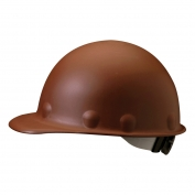 Fibre Metal P2ARW Roughneck Hard Hat - Ratchet Suspension - Brown