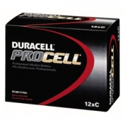 Duracell PROCELL Alkaline Batteries, C Size 12 Batteries