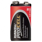 Duracell PROCELL Alkaline Batteries, 9V Size - 12 Batteries