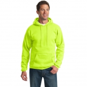 Port & Company PC90H Ultimate Pullover Hooded Sweatshirt - Safety Green
