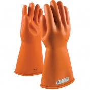 PIP 147-1-14 Novax Class 1 Rubber Insulating Gloves with Straight Cuff - 14\\\