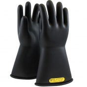 PIP 150-2-14 Novax Class 2 Rubber Insulating Gloves with Straight Cuff - 14\\\