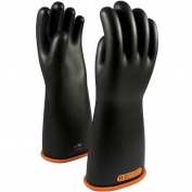 PIP 155-4-16 Novax Class 4 Rubber Insulating Gloves with Straight Cuff - 16\\\