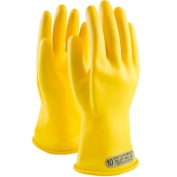 PIP Novax Rubber Insulating Gloves - 14 Inches - Class 00 - Yellow