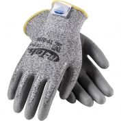 PIP 19-D150 G-Tek CR Plus Seamless Knit Dyneema/Nylon/Lycra Gloves - Polyurethane Coated Smooth Grip on Palm & Fingers