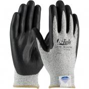 PIP 19-D434 G-Tek CR Ultra Seamless Knit Dyneema/Nylon Gloves - Nitrile Coated Foam Grip on Palm & Fingers