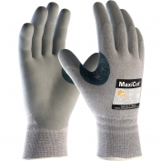 PIP 19-D470 MaxiCut Seamless Knit Dyneema/Engineered Yarn Gloves - Nitrile Coated Foam Grip on Palms & Fingers