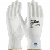 PIP 19-D625 G-Tek CR Plus Seamless Knit Spun Dyneema/Lycra Gloves - Polyurethane Coated Smooth Grip on Palm & Fingers