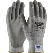 PIP 19-D650 G-Tek CR Plus Seamless Knit Spun Dyneema/Nylon Gloves - Polyurethane Coated Smooth Grip on Palm & Fingers