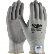 PIP 19-D660 G-Tek CR Ultra Seamless Knit Dyneema/Lycra Gloves - Polyurethane Coated Smooth Grip on Palm & Fingers