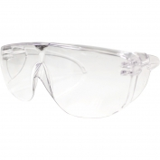 Bouton 250-97-0980 SiteGuard Safety Glasses - Clear OTG Frame - Clear Uncoated Lens