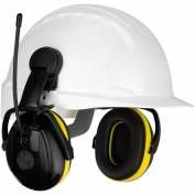 PIP 264-45102 Hellberg Relax Cap Mounted Electronic Ear Muffs with AM/FM Radio - NRR 23