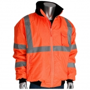 PIP 333-1762 Class 3 2-in-1 Bomber Jacket - Orange
