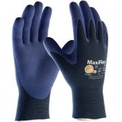 PIP 34-274 MaxiFlex Elite Ultra Lightweight Seamless Knit Nylon Gloves - Nitrile Coated Micro-Foam Grip on Palm & Fingers