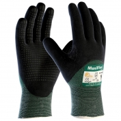PIP 34-8453 MaxiFlex Cut Seamless Knit Gloves - Nitrile Coated Micro-Foam Grip on Palm, Fingers & Knuckles