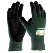 PIP 34-8743 MaxiFlex Cut Seamless Knit Gloves - Nitrile Coated Micro-Foam Grip on Palm & Fingers