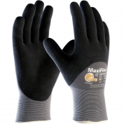 PIP 34-875 MaxiFlex Ultimate Seamless Knit Nylon/Lycra Gloves - Nitrile Coated Micro-Foam Grip on Palm, Fingers & Knuckles